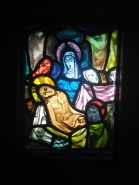 Harry Clarke stained glass panel Hugh Lane Gallery