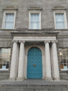 Hugh Lane Gallery Dublin exterior Doors of Dublin