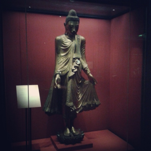 Buddhist statue in Chester Beatty Library