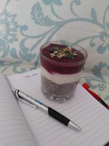 Chia seed pudding recipe Lisa Hughes Blog