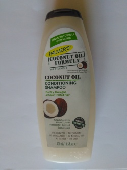 Palmer's coconut oil shampoo with no sulphates