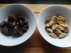 Easy vegan snack recipe brazil nut squares Lisa Hughes