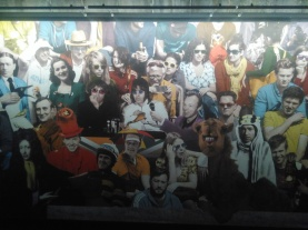 Famous faces of the Irish diaspora including the Gallagher brothers and Graham Norton at EPIC the Irish Emigration Museum Dublin