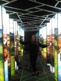 Lisa Hughes journalist Dublin exploring EPIC the Irish Emigration Museum