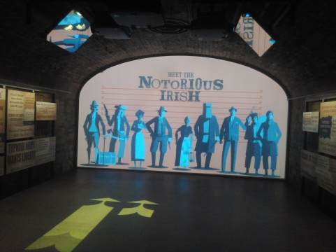 The Notorious Irish interactive exhibition including Typhoid Mary at EPIC the Irish Emigration Museum Dublin