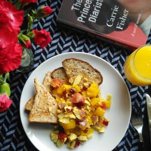 Turmeric recipes tofu scramble Lisa Hughes blog