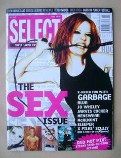 select magazine shirley manson