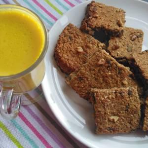 Banana oat bars recipe breakfast snack