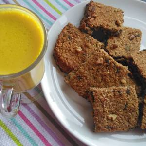 Banana oat bars recipe breakfast snack
