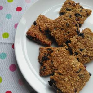 Banana raisin and oat breakfast bars recipe