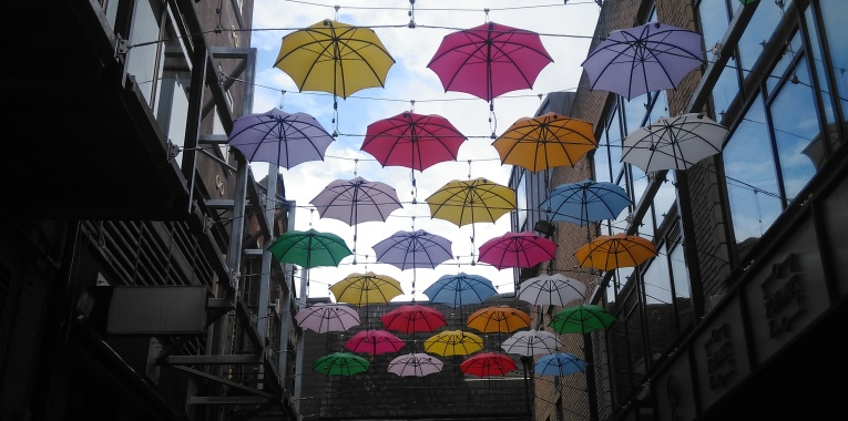 Umbrellas in Dublin